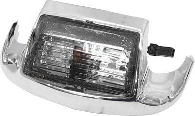HardDrive F51-0643M Smoke Front Fender Tip Light Lens