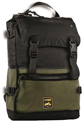 Ducati Scrambler Woods Backpack Back Pack Green Black 987691861
