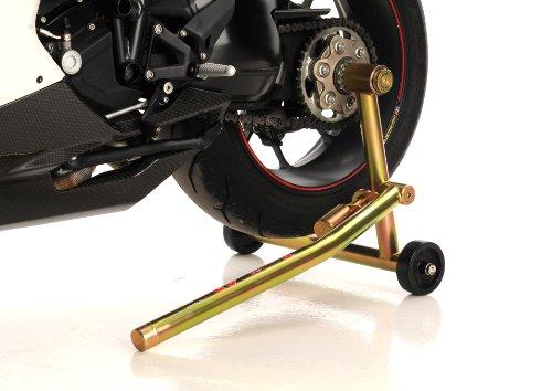Pit Bull Hybrid One Armed Rear Stand Ducati Small Hub w pin for left side of bike for 848 916 996 998 Hypermotard Hyperstrada Monster 796 Monster 1100 S4RS …