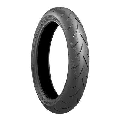 12070ZR-17 58W Bridgestone Battlax S21 Hypersport Front Motorcycle Tire for Ducati 796 Monster 2010-2014