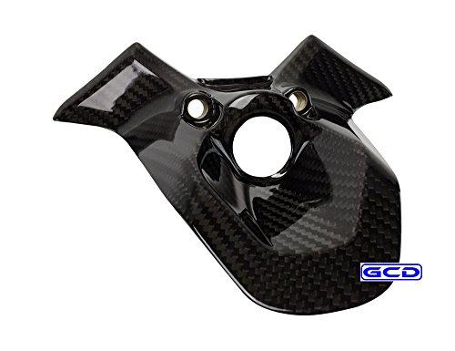 Ducati 848 848 EV0 1098 1098S 1098R 1198 1198S 1198R Ignition Key Case Cover Dash Panel 100 Twill Carbon Fiber