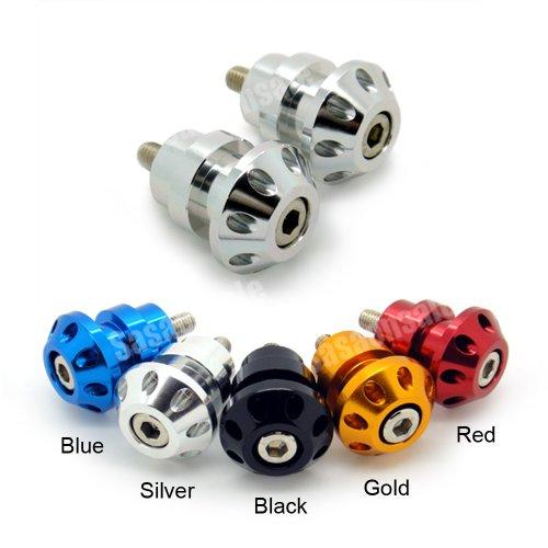 MIT Motors - SILVER - 8mm Universal Swingarm Spools - HONDA CBR F1 F2 F3 F4 F4i 600 900 929 954 1000 RR RVT 1000 RC51 SP1 SP2 DUCATI 749 999 1098
