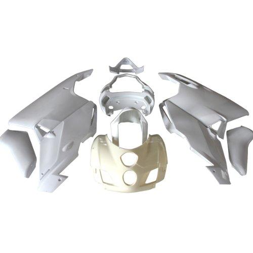 ZXMOTO Motorcycle Bodywork Fairing Kit for Ducati 999  749 2005 2006 Unpainted ABS Plastic Pieceskit16