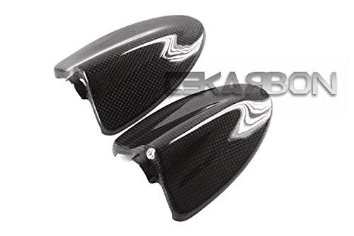 2008 - 2012 Ducati Hypermotard 796 1100 s Carbon Fiber Mirror Covers
