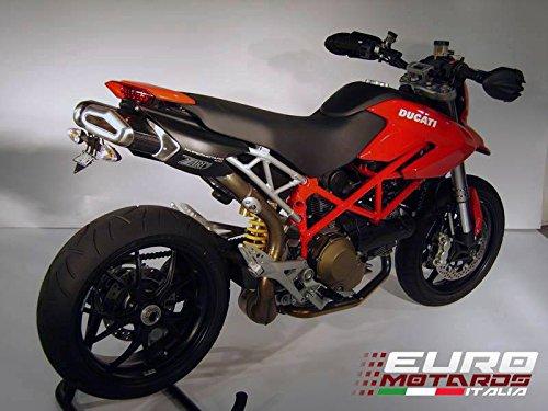 Ducati Hypermotard 796 1100 Evo Zard Exhaust Penta Carbon Silencers Mufflers