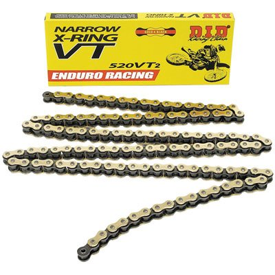 DID 520 VT2 Narrow Enduro Racing X-Ring Chain 520x120 for Ducati 600 Monster 1998-1999