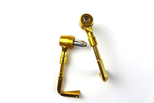 Universal 22mm CNC Brake Clutch Lever Protector Protection Guard Handguard for Suzuki DRZ400 RM250 RMZ250 RMZ450 Gold