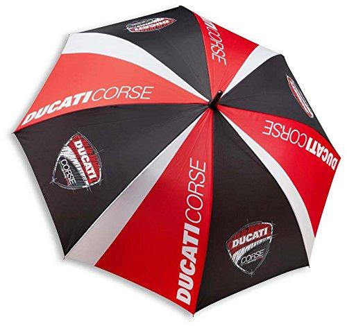Ducati Corse Sketch Umbrella Black Red White 987697806