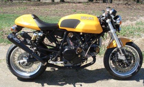 Techspec Tank Grips - Ducati Sport Classic GT 1000 - Techspec 62-1503-SS - Snake Skin - Black