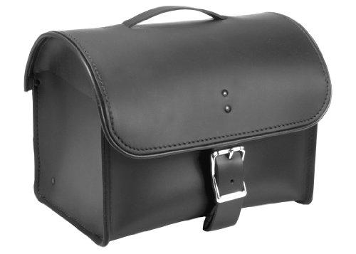 Alc Saddlebags 8056 Premium Leather Plain Luggage Rack Bag