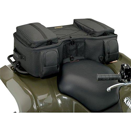 New Atv Rear Rack Bag Rack Pack Black Luggage Storage Pack