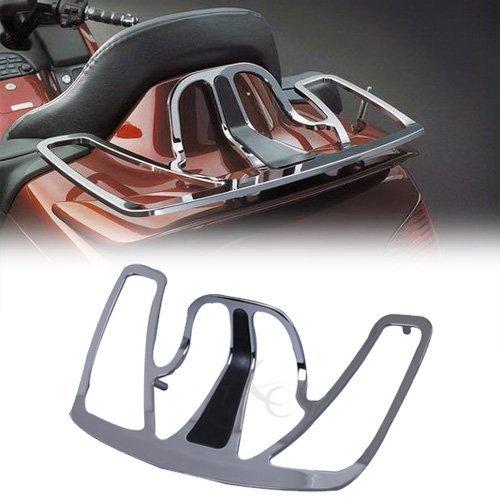 Tengchang Chrome Trunk Luggage Rack Aluminum For Honda Goldwing GL1800 2001-2013