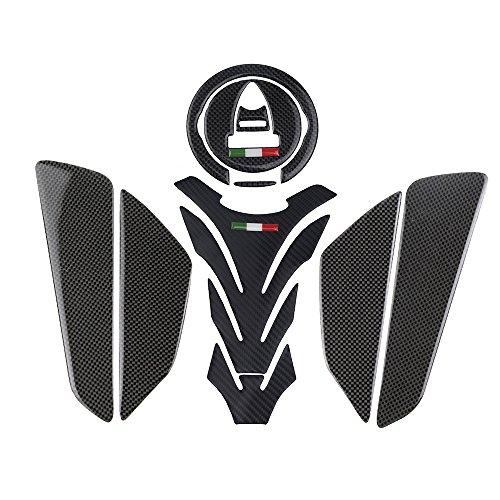 PRO-KODASKIN Carbon Tank Pad Sticker Decal Emblem GRIPPER STOMP GRIPS EASY for Ducati 696 796 M1100