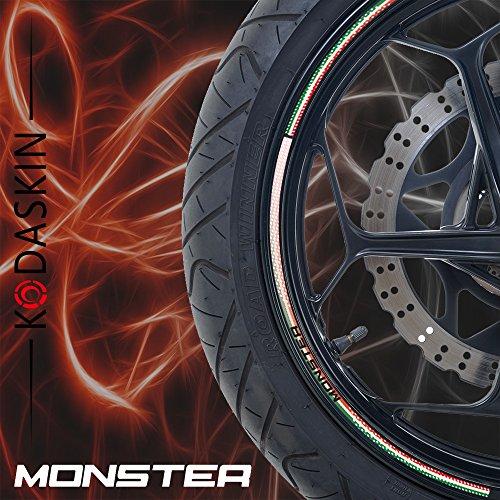 PRO-KODASKIN Wheel Decals Stickers Rim Stripes for DUCATI 696 796 797 821 1100 1200