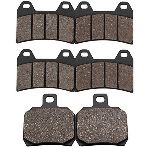Cyleto Front and Rear Brake Pads for DUCATI 620 Sport 2003  696 Monster 696 2008 2009 2010 2011 2012 2013 2014 2015