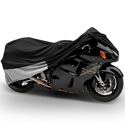 Superior Travel Dust Motorcycle Sport Bike Cover Covers  Fits Up To Length 90 - All Sport Bikes Small To Medium Cruiser Bikes - Yamaha Honda Suzuki Kawasaki Ducati Triumph Motorcross Covers