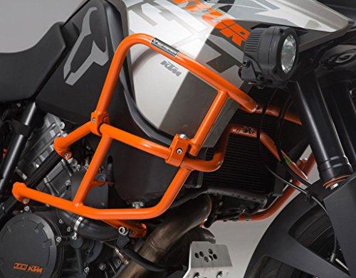 Sw-motech Orange Upper Crashbars Engine Guards For Ktm 1190 Adventure '13-'15 & 1190 Adventure R '13-'15 With