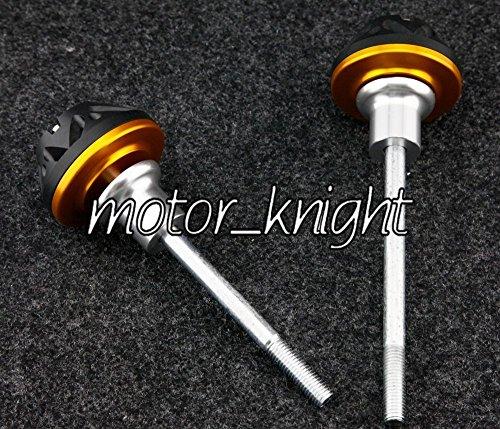 Crash Pads Frame Sliders Engine Protector For Kawasaki Z1000 2007-2009 Gold