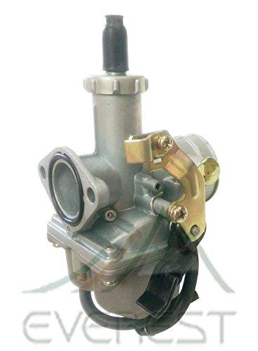27mm Carburetor wCable Choke for 200cc ATVs Dirt Bikes Go Karts 200cc Quad 4 Wheeler Pit Bike Everest Parts Brand