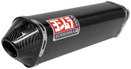 Yoshimura Trc Carbon Fiber Tri-oval Complete Exhaust System - Honda Ruckus Zoomer 2003-2009