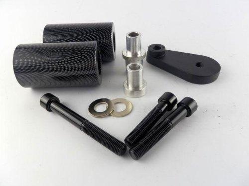 Carbon Frame Slider Fairing Protectors No Cut For 2003-2008 Yamaha Yzf R6 R6s 2004 2005 2006 2007