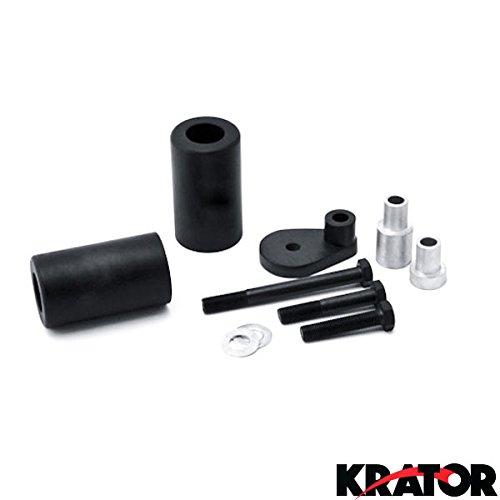 Krator® No Cut Frame Sliders Motorcycle Fairing Protectors For 2001-2003 Suzuki Gsxr 600