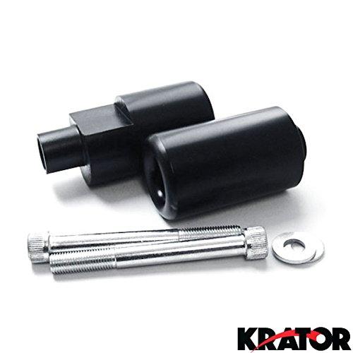 Krator® No Cut Frame Sliders Motorcycle Fairing Protectors For 2005 Suzuki Gsxr 1000 Gsx-r1000