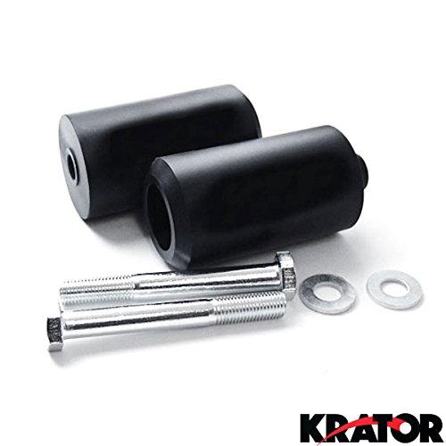 Krator® No Cut Frame Sliders Motorcycle Fairing Protectors For 2007 Yamaha Yzf 600r / Thundercat / Yzf600r