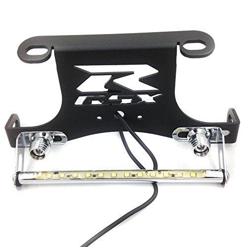 SMT MOTO- Black Motorcycle LED light Fender Eliminator Tidy Tail For 96 12 Suzuki Gsxr 600 750 01 12 Gsxr 1000