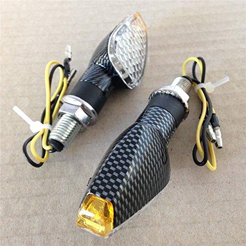 Motorbike Led Motorbike Dual Sport Turn Signal For Suzuki Kawasaki Honda Yamaha Carbon Clear