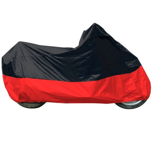 Black - Red Motorcycle Cover For Honda Rebel Motorcycle Cover L