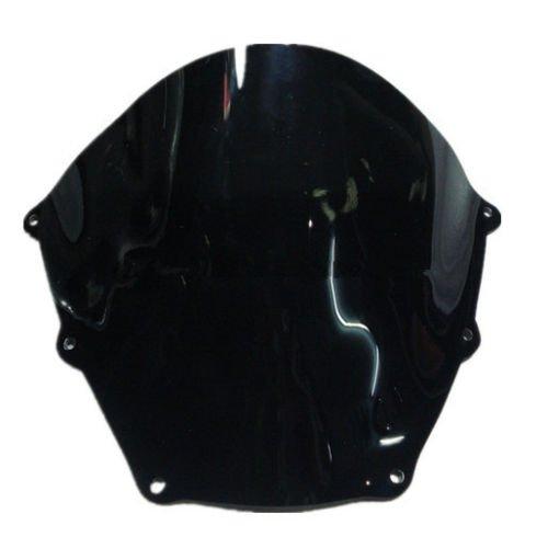 Motorbike Windshield Motorcycle Windscreen Black For Aprilia RSV 1000 2003 New