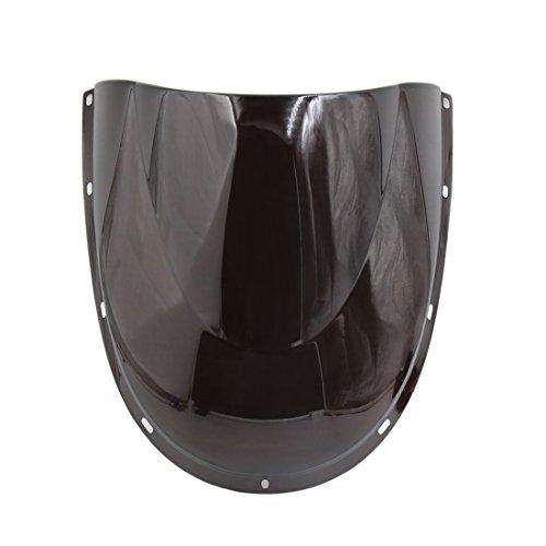 uxcell Black Plastic Motorcycle Motorbike Windshield Windscreen for Ducati 748 916 996 998