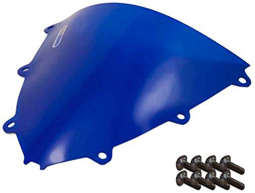 Sportbike Windscreens ADHW-109B Blue Windscreen Honda Cbr 1000RR 08-11 With Silver screw kit2 Pack
