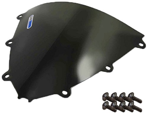 Sportbike Windscreens ADHW-109DS Dark Smoke Windscreen Honda Cbr 1000RR 08-11 With Silver screw kit2 Pack