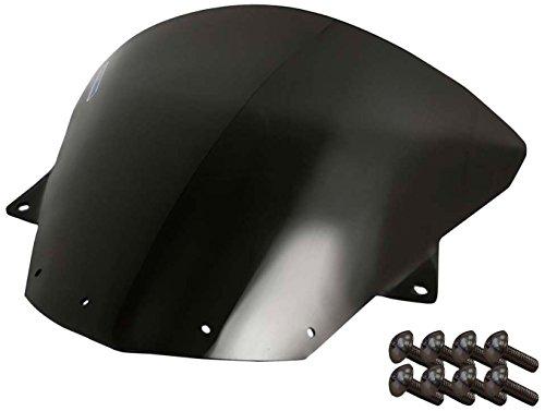 Sportbike Windscreens ADKW-412DS Dark Smoke Windscreen Kawasaki Zx10 08-10 Zx-6R09-14 With Silver screw kit2 Pack