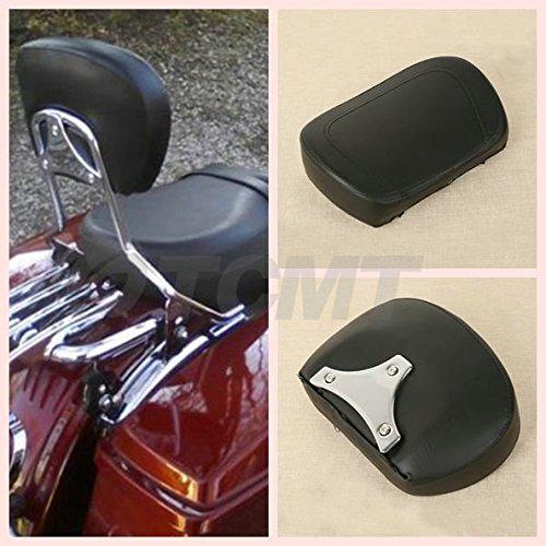 TCMT Detachable Leather Sissy Bar Backrest Pad Bracket For Harley Touring Road King Electra 1997 98 99 00 010 20 3 04 05 06 07 08 09 10 11 12 13 14 2015 2016 2017 2018