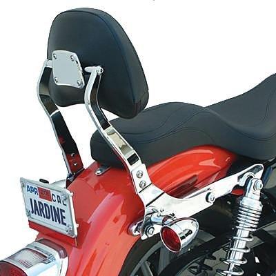 Jardine Touring Backrest Kit for Honda VTX1300 VTX1800