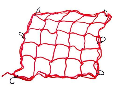 Red Motorcycle Part Cargo Net Tank Luggage Baggage Helmet Mesh Fit For Aprilia Dorsoduro 2008 2009 2010