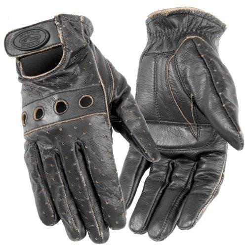 River Road Women's Outlaw Vintage Gloves - Large/dark Brown