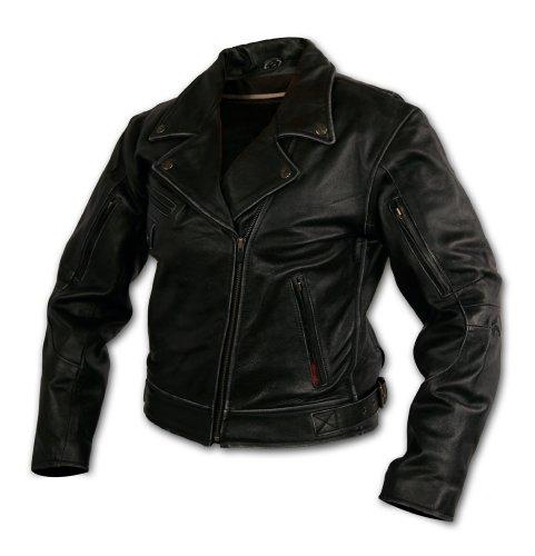 Milwaukee Motorcycle Clothing Company Rangerette Leather Women's Jacket (black, Medium)