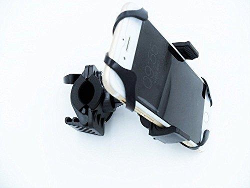 Bike MountHIGHROCK Bicycle MTB Bike Handlebar Mount Holder Universal For Cell Phone GPS BLACK