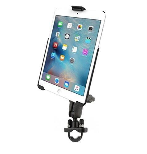 Heavy Duty Handlebar Motorcycle Bike Mount Holder Kit fits Apple iPad mini 4