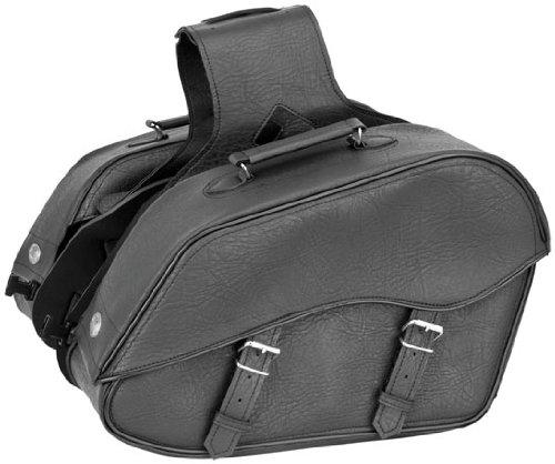 River Road Zip-Off Box Large Saddlebags Classic Black