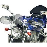 04-09 YAMAHA XVS11A National Cycle Hand Deflector - Clear
