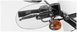 National Cycle Hand Deflectors - Clear