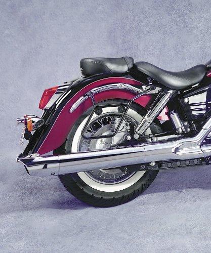 National Cycle Cruiseliner Hard Saddlebags Black Mount Kit for 1998-2003 Honda - One Size