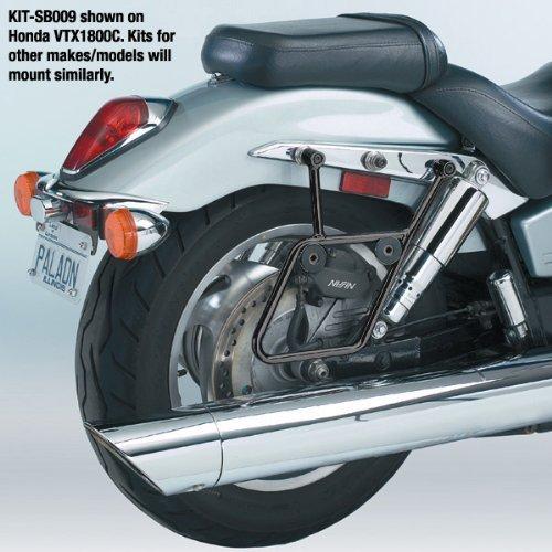 National Cycle Cruiseliner Hard Saddlebags Black Mount Kit for Suzuki 1998-2009 - One Size