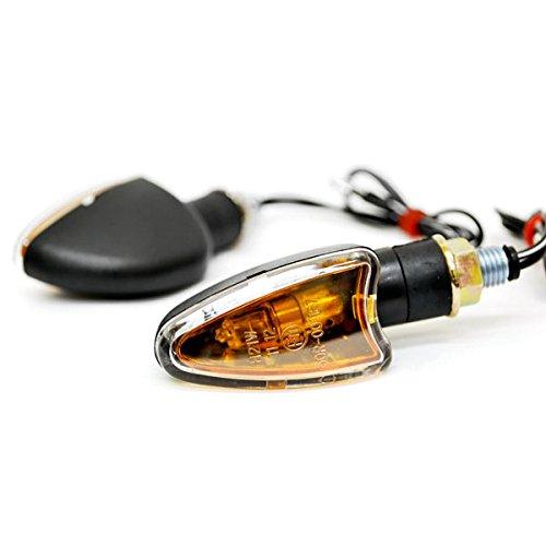 Krator Mini Custom Turn Signals Indicator Lights Lamp For Ducati Monster 696 750 848 851 900 1000