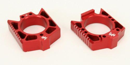 Hammerhead Designs Axle Blocks - Red CRFAB